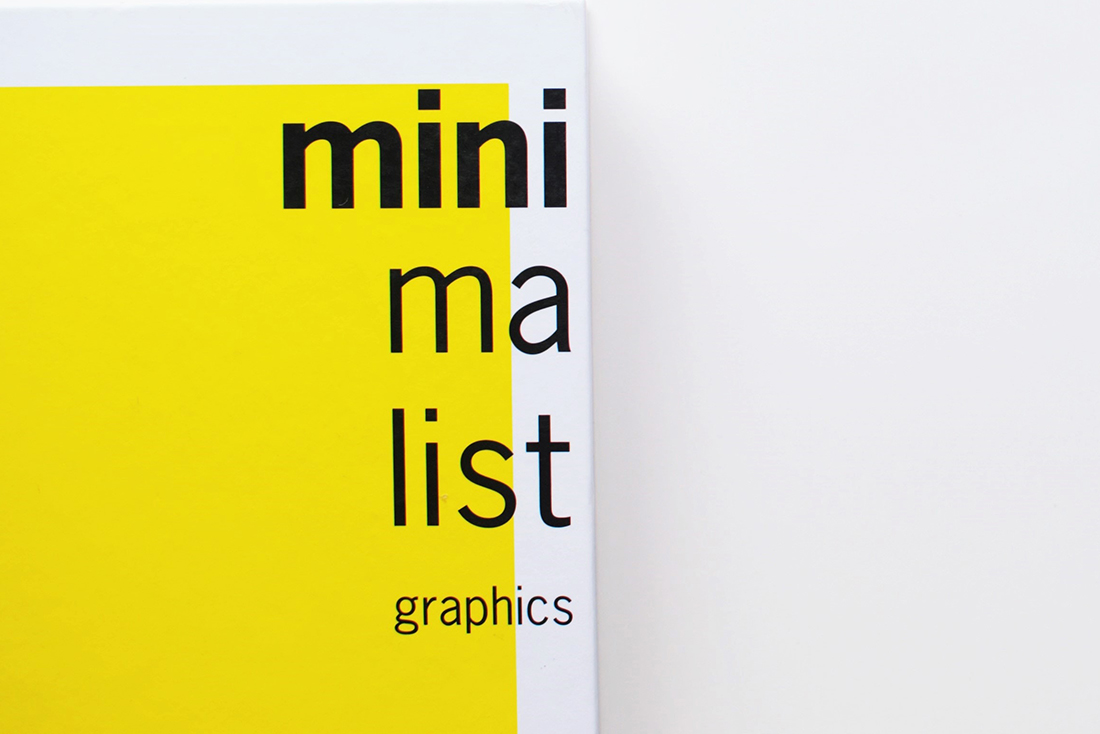 minimalist graphics yellow, logo design by mili and sara